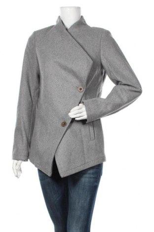 Дамско палто Dreimaster, Размер S, Цвят Сив, 38% вълна, 32% полиестер, 14% полиакрил, 6% полиамид, 5% памук, 5% вискоза, Цена 104,30лв.