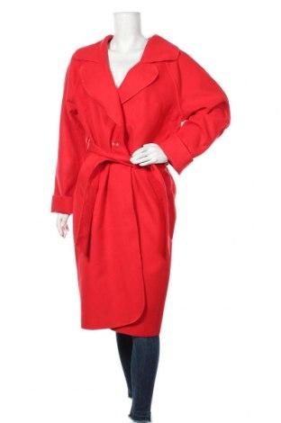 Дамско палто Faina, Размер XL, Цвят Червен, 60% полиестер, 40% полиамид, Цена 90,30лв.