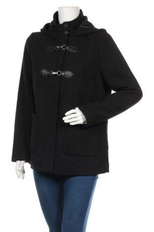 Dámský kabát  Fransa, Velikost M, Barva Černá, 90% polyester, 10% vlna, Cena  601,00Kč