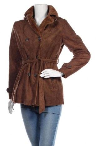 Дамско палто Roosevelt, Размер M, Цвят Кафяв, Полиестер, Цена 76,30лв.