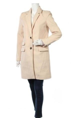Дамско палто Usha, Размер M, Цвят Бежов, Полиестер, Цена 83,30лв.
