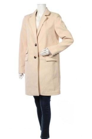 Дамско палто Usha, Размер L, Цвят Бежов, Полиестер, Цена 71,40лв.