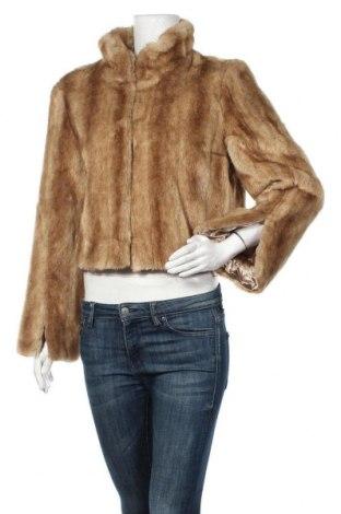 Дамско палто Apart, Размер L, Цвят Кафяв, 53% акрил, 20% полиакрил, 12% памук, 8% вискоза, 7% полиестер, Цена 77,96лв.