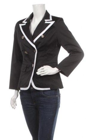 Дамско сако Osley, Размер L, Цвят Черен, 52% памук, 46% полиестер, 6% еластан, Цена 29,40лв.
