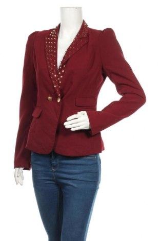 Дамско сако Osley, Размер S, Цвят Червен, 96% полиестер, 4% еластан, Цена 13,23лв.