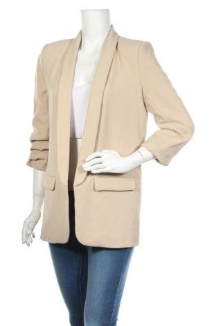 Dámské sako  Zara, Velikost M, Barva Béžová, Polyester, Cena  710,00Kč