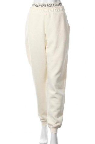 Pantaloni trening de femei About You, Mărime XL, Culoare Galben, 70% bumbac, 30% poliester, Preț 145,56 Lei