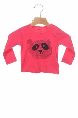 Παιδική μπλούζα Fixoni, Μέγεθος 2-3m/ 56-62 εκ., Χρώμα Ρόζ , Βαμβάκι, Τιμή 7,01€