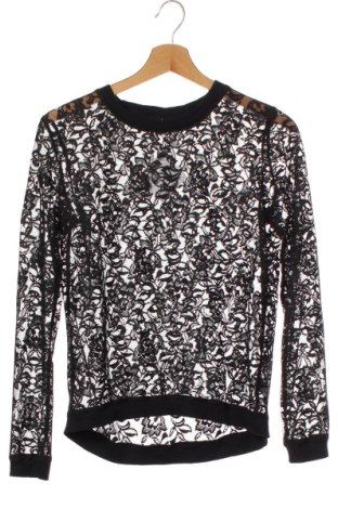 Детска блуза Here+There, Размер 12-13y/ 158-164 см, Цвят Черен, Полиестер, Цена 3,94лв.