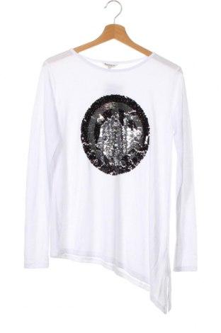 Детска блуза Review, Размер 13-14y/ 164-168 см, Цвят Бял, 65% полиестер, 35% вискоза, Цена 3,68лв.