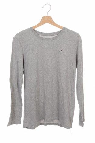 Παιδική μπλούζα Tommy Hilfiger, Μέγεθος 13-14y/ 164-168 εκ., Χρώμα Γκρί, Βαμβάκι, Τιμή 14,55€