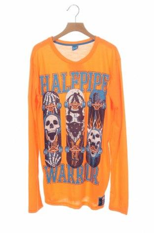 Детска блуза Y.F.K., Размер 15-18y/ 170-176 см, Цвят Оранжев, Полиестер, Цена 4,73лв.