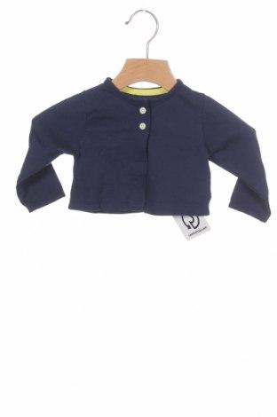 Pulover cu nasturi pentru copii Carter's, Mărime 3-6m/ 62-68 cm, Culoare Albastru, Bumbac, Preț 50,92 Lei