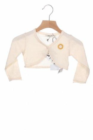 Pulover cu nasturi pentru copii Mexx, Mărime 9-12m/ 74-80 cm, Culoare Bej, Bumbac, Preț 51,32 Lei