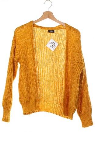 Pulover cu nasturi pentru copii Page One, Mărime 12-13y/ 158-164 cm, Culoare Galben, 67%acril, 33% poliester, Preț 72,95 Lei