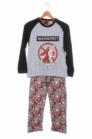 Pijama pentru copii Disney, Mărime 9-10y/ 140-146 cm, Culoare Multicolor, Bumbac, poliester, Preț 120,89 Lei