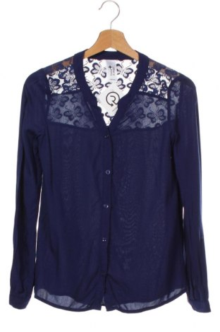 Dětská košile  Here+There, Velikost 12-13y/ 158-164 cm, Barva Modrá, Viskóza, Cena  223,00Kč