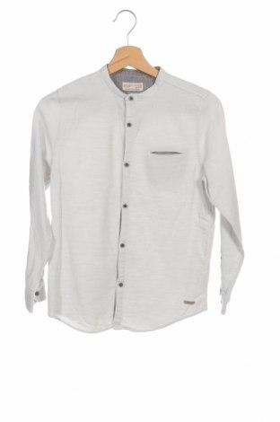 Детска риза Zara, Размер 10-11y/ 146-152 см, Цвят Сив, Памук, Цена 7,35лв.