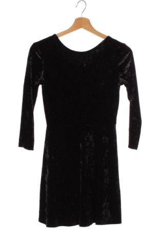 Детска рокля H&M, Размер 10-11y/ 146-152 см, Цвят Черен, 93% полиестер, 7% еластан, Цена 4,99лв.