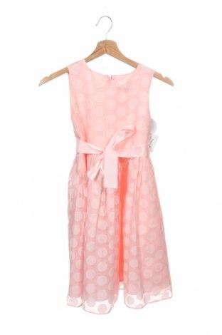 Детска рокля Happy Girls By Eisend, Размер 6-7y/ 122-128 см, Цвят Розов, 55% вискоза, 45% полиестер, Цена 30,72лв.