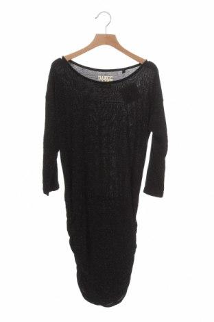 Dětské šaty  Here+There, Velikost 10-11y/ 146-152 cm, Barva Černá, 92% polyester, 5% elastan, 3% kovové nitě, Cena  335,00Kč
