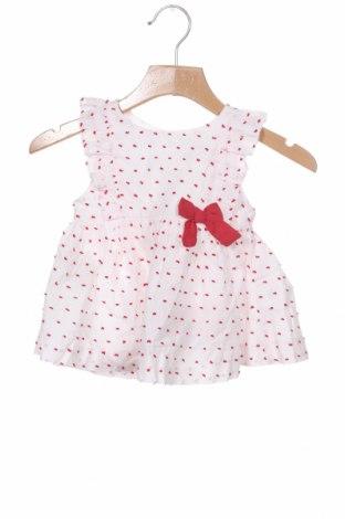 Детска рокля Lola Palacios, Размер 18-24m/ 86-98 см, Цвят Бял, Памук, Цена 11,80лв.