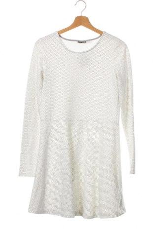 Детска рокля Pepperts!, Размер 15-18y/ 170-176 см, Цвят Бял, 57% памук, 39% полиестер, 4% еластан, Цена 6,04лв.