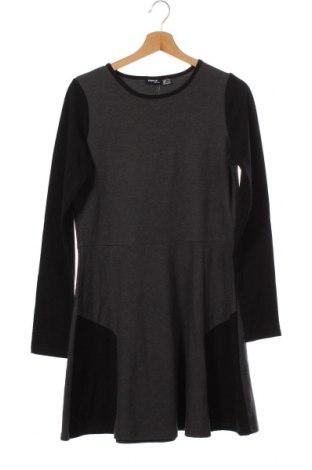 Детска рокля Pepperts!, Размер 15-18y/ 170-176 см, Цвят Сив, 57% памук, 39% полиестер, 4% еластан, Цена 5,51лв.