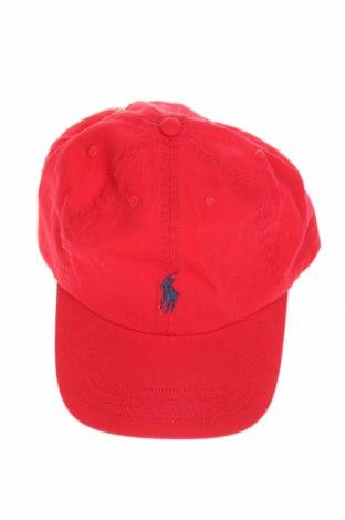 Dětská čepice  Polo By Ralph Lauren, Barva Červená, Bavlna, Cena  744,00Kč