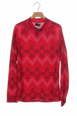 Детска спортна блуза Craft, Размер 12-13y/ 158-164 см, Цвят Розов, Полиестер, Цена 10,08лв.
