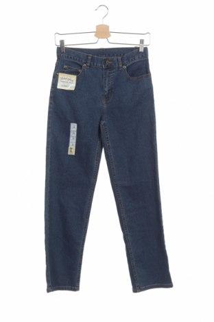 Blugi pentru copii Faded Glory, Mărime 13-14y/ 164-168 cm, Culoare Albastru, 98% bumbac, 2% elastan, Preț 36,14 Lei