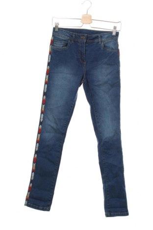 Blugi pentru copii Punkidz, Mărime 14-15y/ 168-170 cm, Culoare Albastru, 98% bumbac, 2% elastan, Preț 36,47 Lei