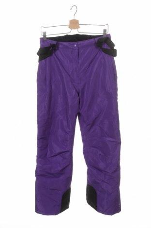 Pantaloni pentru copii pentru sporturi de iarnă Crivit, Mărime 12-13y/ 158-164 cm, Culoare Mov, Poliester, Preț 192,32 Lei