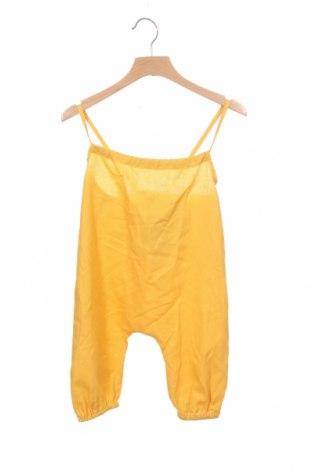 Dětská kombinéza  Little Celebs, Velikost 18-24m/ 86-98 cm, Barva Žlutá, 50% bavlna, 30% len, 20% polyester, Cena  162,00Kč