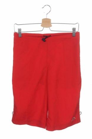 Детски къс панталон Kappa, Размер 15-18y/ 170-176 см, Цвят Червен, Полиестер, Цена 24,00лв.