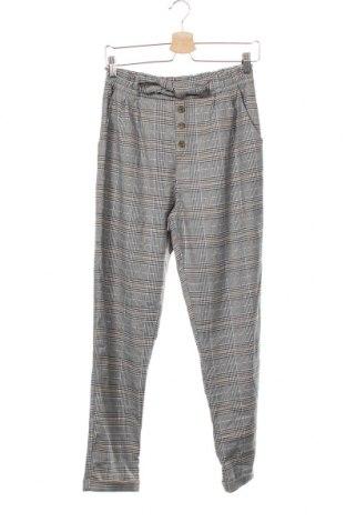 Pantaloni pentru copii H&M, Mărime 15-18y/ 170-176 cm, Culoare Multicolor, 67% poliester, 32% viscoză, 1% elastan, Preț 28,19 Lei