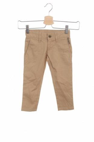 Детски панталон Hackett, Размер 18-24m/ 86-98 см, Цвят Бежов, 98% памук, 2% еластан, Цена 31,97лв.
