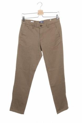 Παιδικό παντελόνι Jack & Jones, Μέγεθος 12-13y/ 158-164 εκ., Χρώμα Καφέ, 98% βαμβάκι, 2% ελαστάνη, Τιμή 10,72€