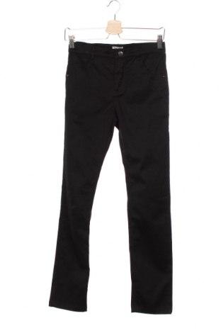 Детски панталон Karstadt, Размер 11-12y/ 152-158 см, Цвят Черен, 70% памук, 28% полиестер, 2% еластан, Цена 5,78лв.