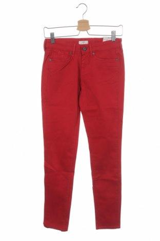 Παιδικό παντελόνι Pepe Jeans, Μέγεθος 13-14y/ 164-168 εκ., Χρώμα Κόκκινο, 97% βαμβάκι, 3% ελαστάνη, Τιμή 11,74€