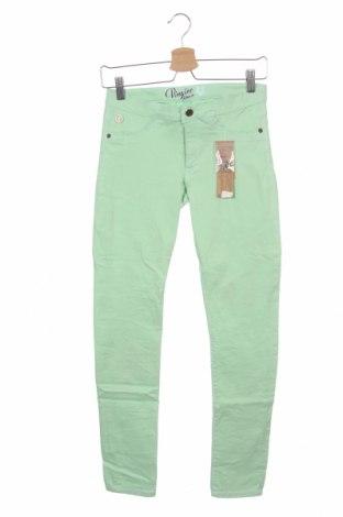 Детски панталон Vingino, Размер 14-15y/ 168-170 см, Цвят Зелен, 81% памук, 17% полиестер, 2% еластан, Цена 13,80лв.