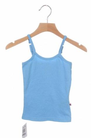 Детски потник Vingino, Размер 2-3m/ 56-62 см, Цвят Син, 95% памук, 5% еластан, Цена 11,52лв.