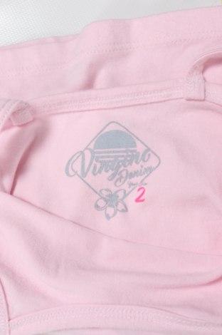 Детски потник Vingino, Размер 1-2m/ 50-56 см, Цвят Розов, 95% памук, 5% еластан, Цена 11,52лв.