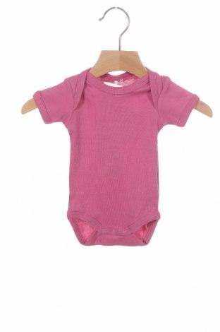 Dětské body  Name It, Velikost 0-1m/ 50 cm, Barva Růžová, Bavlna, Cena  92,00Kč