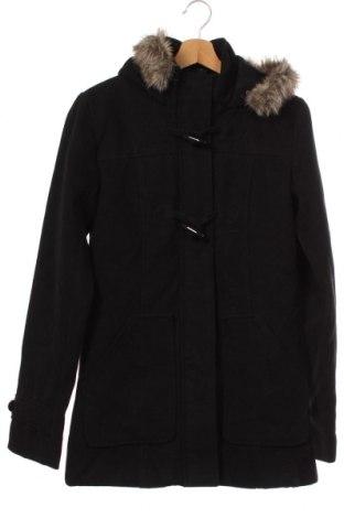 Palton pentru copii Page One, Mărime 15-18y/ 170-176 cm, Culoare Negru, 68% poliester, 30% viscoză, 2% elastan, Preț 43,11 Lei