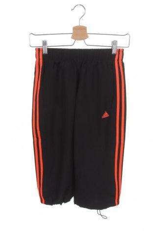 Dětské tepláky Adidas, Velikost 11-12y/ 152-158 cm, Barva Černá, Polyester, Cena  376,00Kč