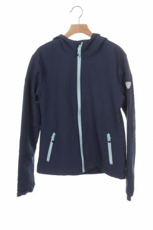 Dziecięca kurtka sportowa Manguun, Rozmiar 13-14y/ 164-168 cm, Kolor Niebieski, 96% poliester, 4% elastyna, Cena 38,40zł