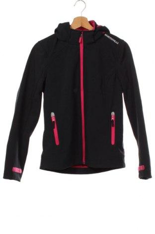 Dětská sportovní bunda  Northville, Velikost 14-15y/ 168-170 cm, Barva Černá, 95% polyester, 5% elastan, Cena  510,00Kč