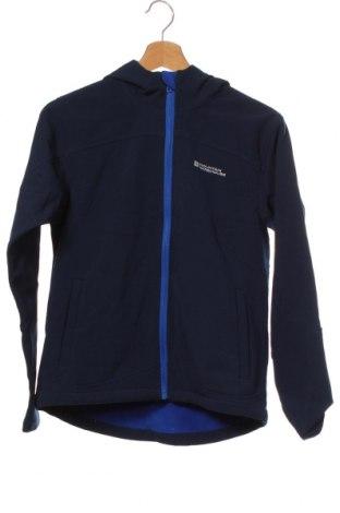 Dětská bunda  Mountain Warehouse, Velikost 12-13y/ 158-164 cm, Barva Modrá, 90% polyester, 10% elastan, Cena  383,00Kč