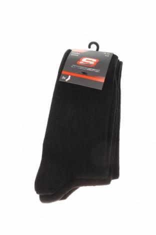 Комплект Skechers, Размер M, Цвят Черен, 78% памук, 20% полиамид, 2% еластан, Цена 13,92лв.